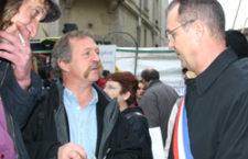 José Bové apporte son soutien à René Balme