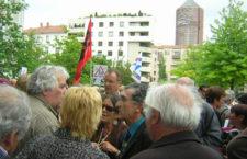 René BALME présent au TGI de Lyon aux côtés de François AUGUSTE