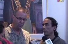 René Balme s'entretient avec la presse vénézuélienne