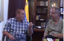 Entretient avec le maire de Maracaibo (Vénézuéla)