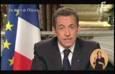 Les faux Vœux de N. Sarkozy censurés (semble-t-il)  par DailyMotion