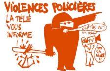 Violences des forces de l'ordre à Anduze (Gard)