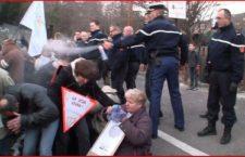 Anduze : Le gendarme qui gazait les manifestants mis en examen !